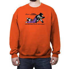 Go to Arkham  - Crew Neck Sweatshirt - Crew Neck Sweatshirt - RIPT Apparel