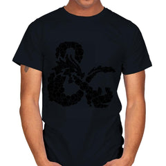 Dice & Dragons - Mens - T-Shirts - RIPT Apparel