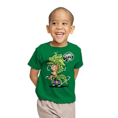 My Little Broly B - Youth - T-Shirts - RIPT Apparel