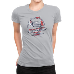 Ryu and Ken's Automotive Repair Exclusive - Womens Premium - T-Shirts - RIPT Apparel