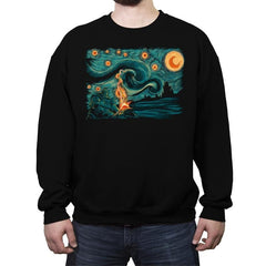 Starry Souls - Crew Neck Sweatshirt - Crew Neck Sweatshirt - RIPT Apparel