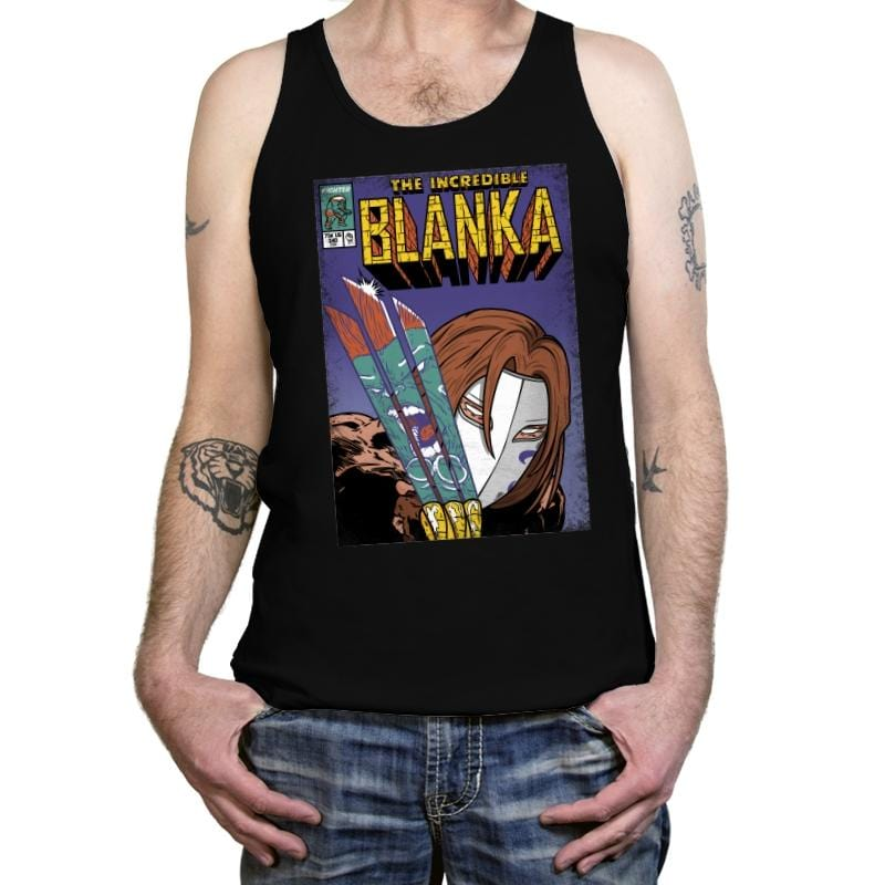 The Incredible Blanka! - Tanktop - Tanktop - RIPT Apparel