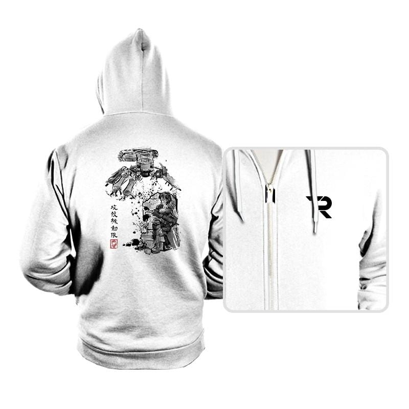 Major vs Tank sumi-e - Hoodies - Hoodies - RIPT Apparel