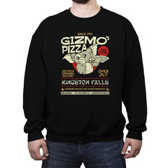 Gizmo's Pizza - Crew Neck Sweatshirt - Crew Neck Sweatshirt - RIPT Apparel