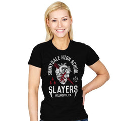 Sunnydale Slayers - Womens - T-Shirts - RIPT Apparel