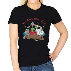 The Conspiracy Club - Womens - T-Shirts - RIPT Apparel