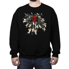 The Baba Yaga - Crew Neck Sweatshirt - Crew Neck Sweatshirt - RIPT Apparel