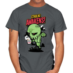 Cthulhu Awakens Again - Mens - T-Shirts - RIPT Apparel