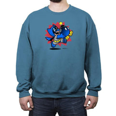 Can't Get Rid of the Bob-omb Reprint - Crew Neck Sweatshirt - Crew Neck Sweatshirt - RIPT Apparel