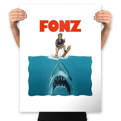 FONZ - Prints - Posters - RIPT Apparel