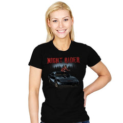 Night Rider - Womens - T-Shirts - RIPT Apparel