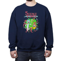 Science Time - Crew Neck Sweatshirt - Crew Neck Sweatshirt - RIPT Apparel