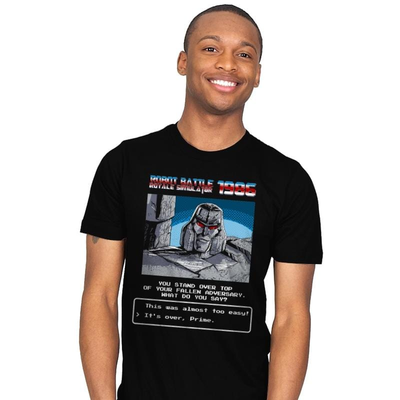 Robot Battle Royale Simulator 1986 Exclusive - Mens - T-Shirts - RIPT Apparel