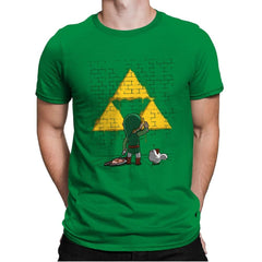 Link Graffiti - Mens Premium - T-Shirts - RIPT Apparel