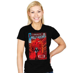 Daredevil No More! - Womens - T-Shirts - RIPT Apparel