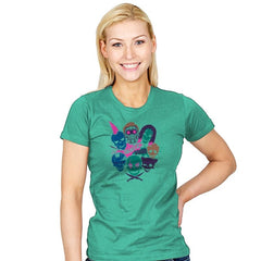 Galactic squad - Womens - T-Shirts - RIPT Apparel