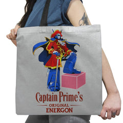 Captain P.'s Original Energon Exclusive - Shirtformers - Tote Bag - Tote Bag - RIPT Apparel
