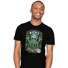 Rick's Pickles - Mens - T-Shirts - RIPT Apparel
