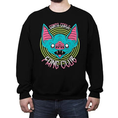 Santa Carla Fang Club - Crew Neck Sweatshirt - Crew Neck Sweatshirt - RIPT Apparel