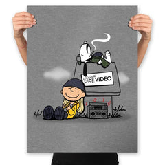 Video Store Nuts - Prints - Posters - RIPT Apparel