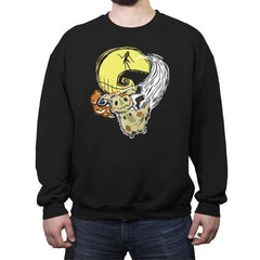 Nightmare Before Mimikyu - Crew Neck Sweatshirt - Crew Neck Sweatshirt - RIPT Apparel