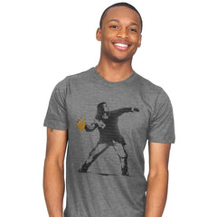 Go Long Mark! - Mens - T-Shirts - RIPT Apparel