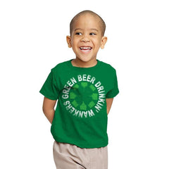 Green Beer Drinkin' Exclusive - St Paddys Day - Youth - T-Shirts - RIPT Apparel