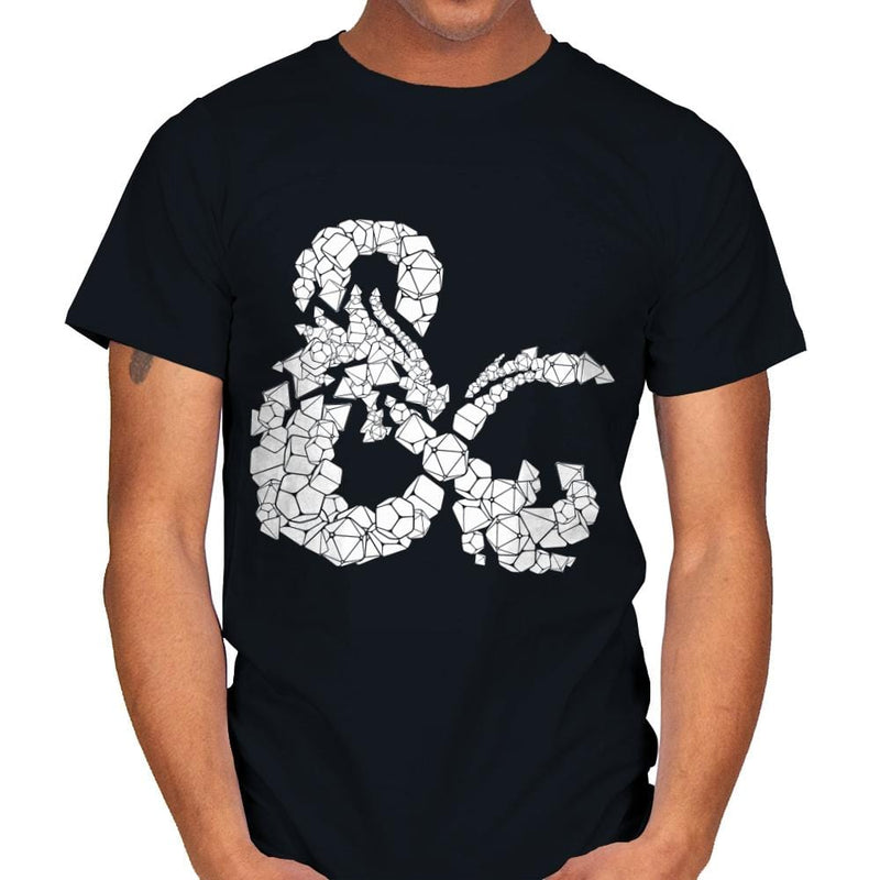 Dice & Dragons - Anytime - Mens - T-Shirts - RIPT Apparel