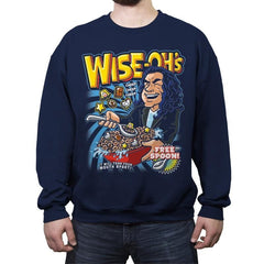 Wise-Oh's - Crew Neck Sweatshirt - Crew Neck Sweatshirt - RIPT Apparel