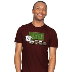 Coffee Lessons - Mens - T-Shirts - RIPT Apparel