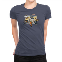 Super Star Kart: Lap VII Exclusive - Womens Premium - T-Shirts - RIPT Apparel