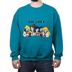 Sailor Pals - Crew Neck Sweatshirt - Crew Neck Sweatshirt - RIPT Apparel