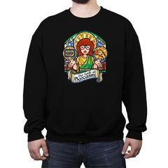 Our Lady of Sarcasm Reprint - Crew Neck Sweatshirt - Crew Neck Sweatshirt - RIPT Apparel