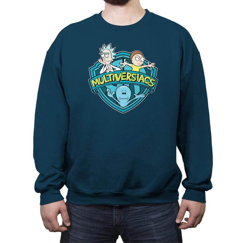 Multiversiacs - Crew Neck Sweatshirt - Crew Neck Sweatshirt - RIPT Apparel