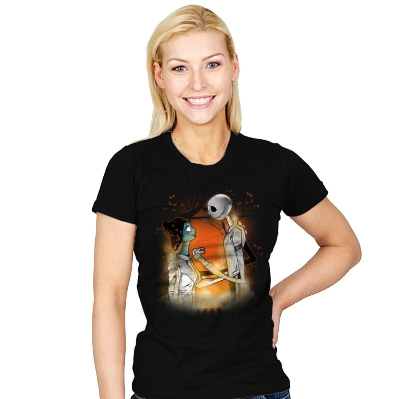 A Nightmare Before Carbonite - Womens - T-Shirts - RIPT Apparel