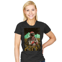 Outer Space Man - Womens - T-Shirts - RIPT Apparel
