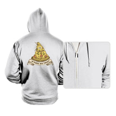 In Pizza We Trust - Hoodies - Hoodies - RIPT Apparel