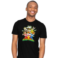 Meower Rangers - Mens - T-Shirts - RIPT Apparel