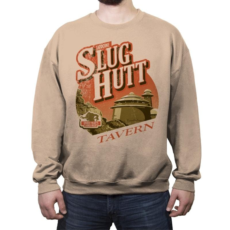 Slugg Hutt - Crew Neck Sweatshirt - Crew Neck Sweatshirt - RIPT Apparel