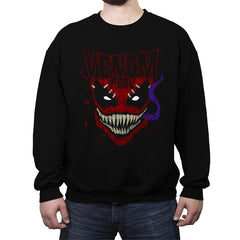 Heavy Metal Merc - Crew Neck Sweatshirt - Crew Neck Sweatshirt - RIPT Apparel