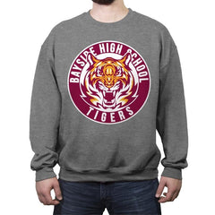 Bayside Tigers - Crew Neck Sweatshirt - Crew Neck Sweatshirt - RIPT Apparel