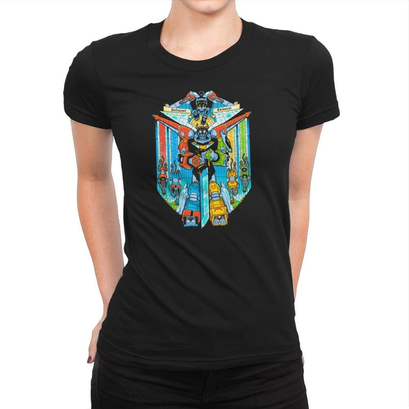 Stained Glass Defender Exclusive - Womens Premium - T-Shirts - RIPT Apparel