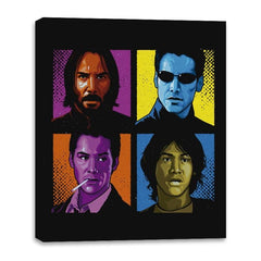 Pop Keanu - Anytime - Canvas Wraps - Canvas Wraps - RIPT Apparel