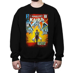 The Amazing Kaiba - Crew Neck Sweatshirt - Crew Neck Sweatshirt - RIPT Apparel