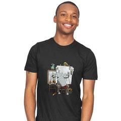Bender Self Portrait - Mens - T-Shirts - RIPT Apparel