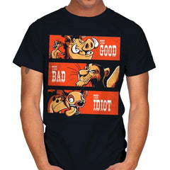 The Good The Bad And The Idiot - Mens - T-Shirts - RIPT Apparel