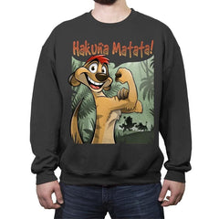 Matata - Crew Neck Sweatshirt - Crew Neck Sweatshirt - RIPT Apparel
