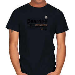 Fancy Bearded Hipster - Mens - T-Shirts - RIPT Apparel