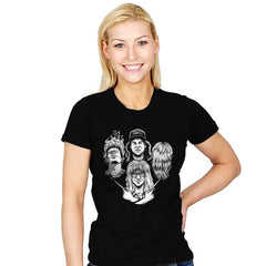 Not Worthy Rhapsody - Womens - T-Shirts - RIPT Apparel