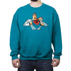 Super Alien - Crew Neck Sweatshirt - Crew Neck Sweatshirt - RIPT Apparel